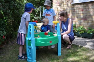 Marcus, Daniel, Joshua and Mummy