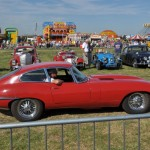 Haddenham Steam Rally - e-type Jaguar